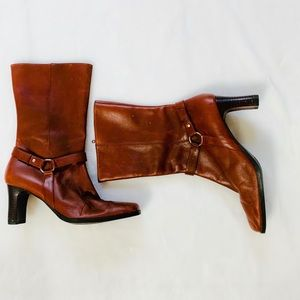 Bass Leather Boots sz 8.5